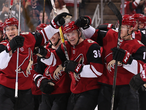 Arizona Coyotes players