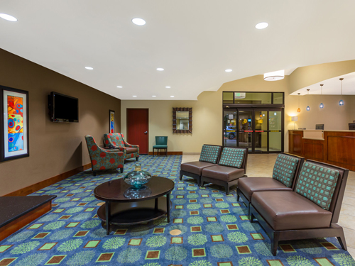 Holiday Inn Express & Suites Surprise lobby
